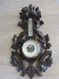 Barometer antique - J.J Balli Groningen, the Netherlands - very beautifully designed