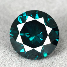 Diamond – 1.15 ct Si2  Fancy Intense Blue
