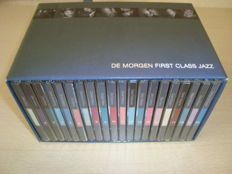 """Rare 20 CD-Box Edition :""""First Class jazz"""" with Miles Davis, Billie Holiday, Chet Baker, John Coltrane, Count Basie, Toots Thielemans ..."""
