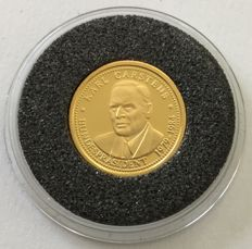 Germany – gold coin 'Karl Carstens' – 1 g gold