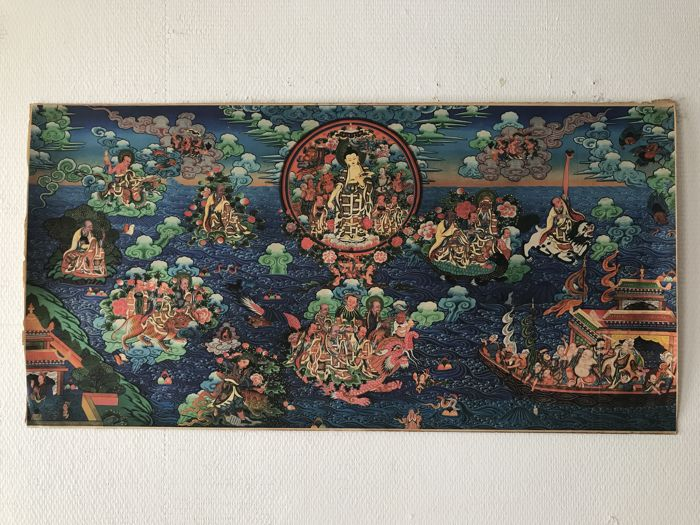 Thangka - Tibet - late 20th century