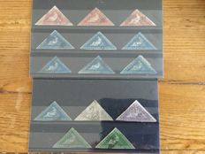 Cape of Good Hope – collection of 14 triangles