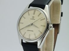 vintage omega seamaster steel wrist watch perfect 285 caliber  ref.2996