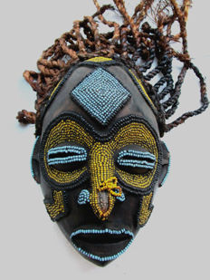 Superb TIKAR mask of Cameroon
