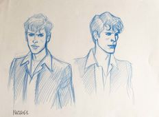 "Nizzoli, Marco - original study for ""Dylan Dog"""