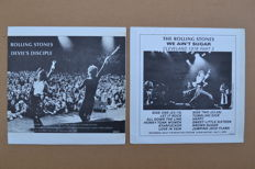 "2 Great rare unofficial live albums ""Devils Desciple"" & ""We ain't Sugar"""
