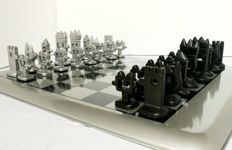 Unique collection chess: Design by Javier Mariscal.