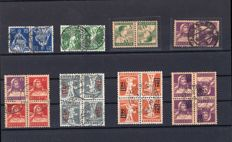 Switzerland 1908-1950 – se-tenant collection