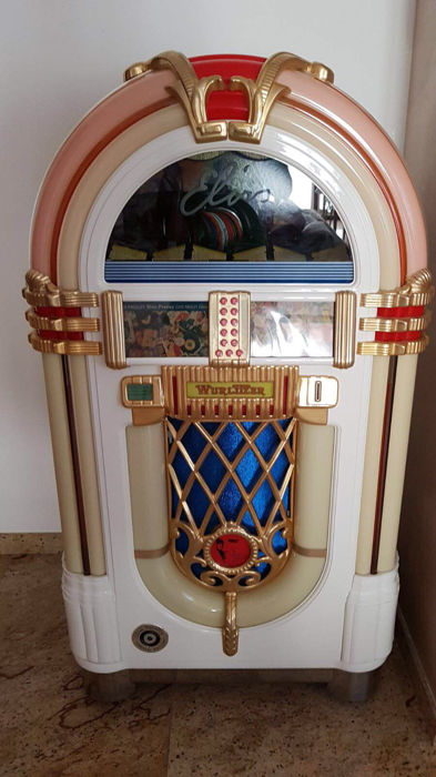 Wurlitzer Elvis One More Time 1015 Limited Edition Jukebox - Catawiki