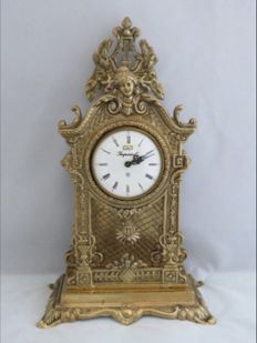 Table clock – Imperial Wintermantel – around 1950