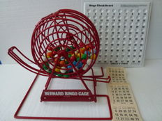 Bingo machine Bernards Tombola Cage