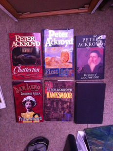Several books by Peter Ackroyd and John Fowles, Peter Carey, Charles Palliser, Susanna Clarke, Ian Caldwel & Dustin THomasson