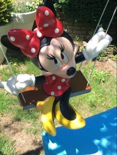 Disney, Walt - Statue - Minnie Mouse on Swing