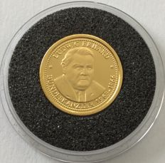 Germany – gold coin 'Ludwig Erhard' – 1 g gold