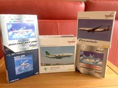 Lot of 5 aircraft from different countries
