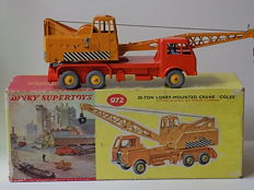 Dinky Toys - Scale 1/43 - 20 Ton Lorry Mounted Crane Coles - No.972