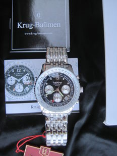 Krug-Baumen Air Traveller Diamond 400303DS-New