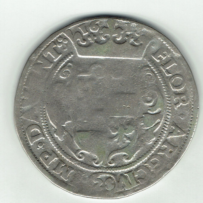 "Deventer – florin of 28 ""stuivers"", 1618 – silver"