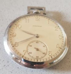 38. Longines – military pocket watch – metal dial – Switzerland 1940
