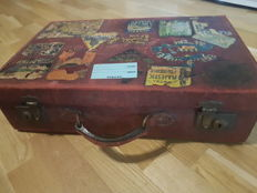 Antique suitcase with history