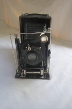 "The very first camera of the firm ""Welta"" (Germany) 1914-1915, with the lens Demaria-Lapierre Paris Anastigmat ""Rysoor""  f: 6,8 F = 135.Limited edition."