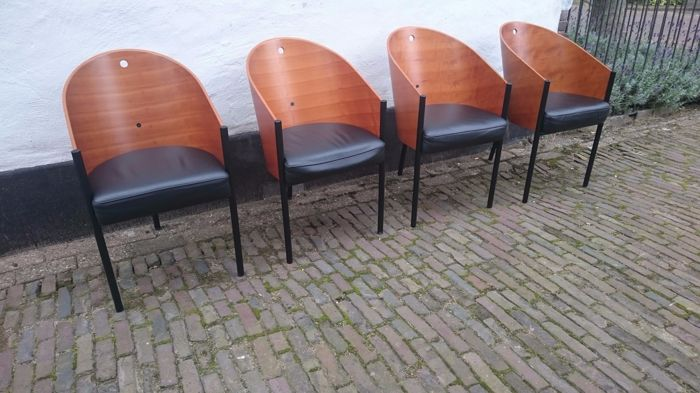 Design Stoelen Philippe Starck.Philippe Starck For Aleph Four Costes Chairs Catawiki