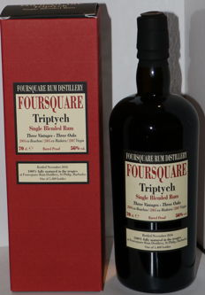 Rhum Foursquare Triptych by Velier 56°