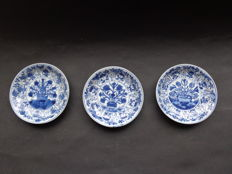 Flower dishes – China – eighteenth century (Kangxi era)