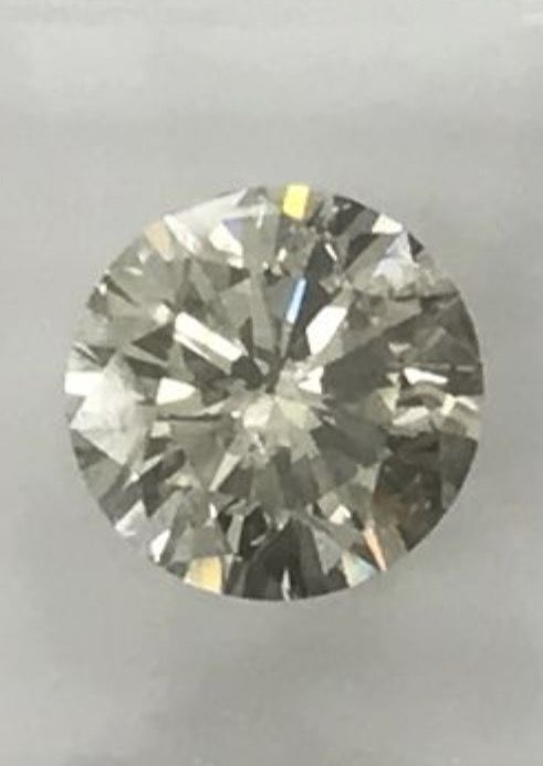 1.37 ct Round brilliant -cut diamond natural J Si1
