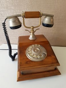 Nostalgic telephone, second half of the 20th century
