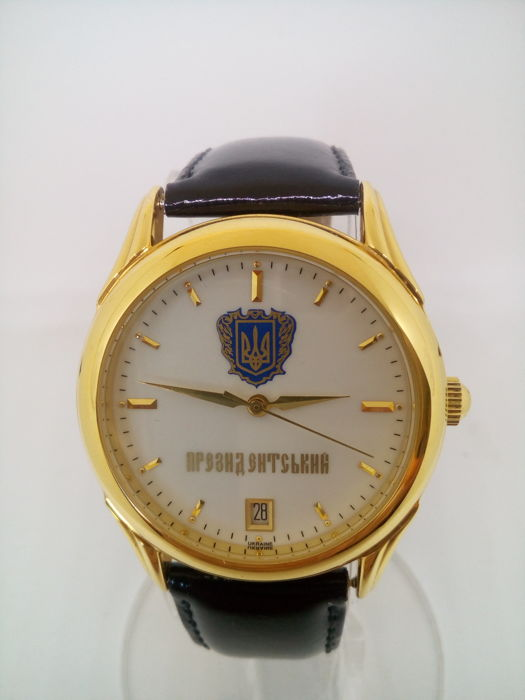 Poljot Presidential limited edition - Men's wristwatch - 2002, new old stock