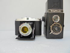 Lot containing a Voigtländer Brillant and an Agfa Isolette