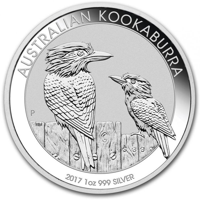 Kookaburra 2017 - 1 OZ Silver Coin - Very beautiful coin!