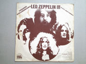 Check out our Extraordinary Edition - Led Zeppelin III - LP Atlantic 1970