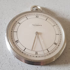 39 Tavannes/Cyma – Art Deco – pocket watch – metal dial – Switzerland 1940
