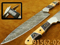 Original Damascus Steel Kitchen Knife Chef Knife TOP QUALITY (91562-2-4400)