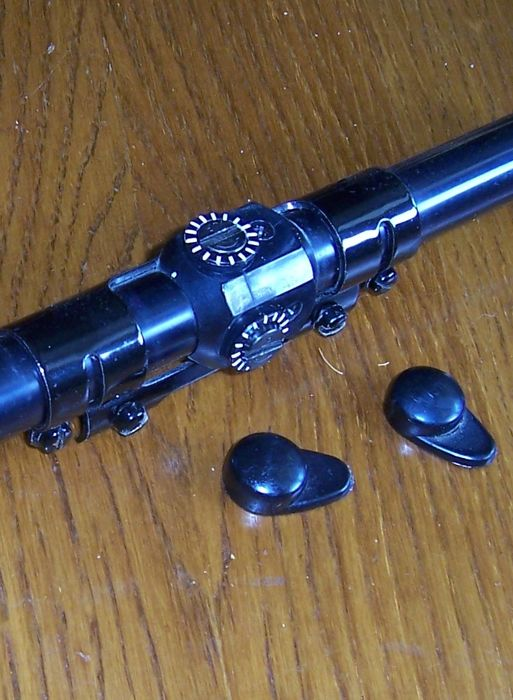 Shooting sighting glasses 4 x 15 Buschnell and accessories