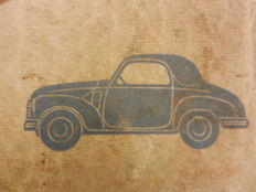 FIAT TOPOLINO instruction booklet 1949