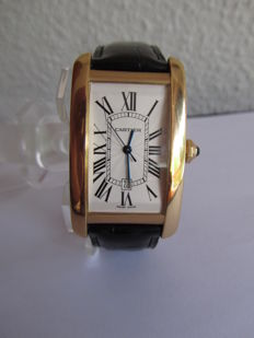 Cartier Tank Americaine XL Ref.: 2329 – For men –  From the years 1990-1999.
