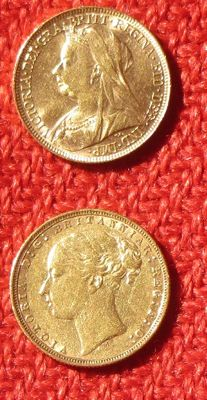 Great Britain – Sovereign 1873/1898 – Victoria – Gold