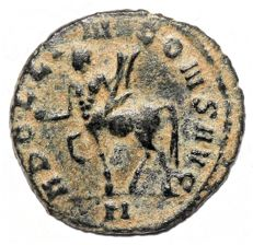 Roman Empire - GALLIENUS (253-268 AD), Æ Antoninianus (Centaur walking left) - mm; 2.90g / Scarce