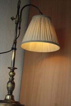 Antique classic copper desk lamp