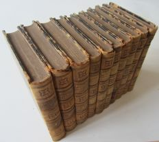 Lord Macaulay - The history of England - 10 volumes - 1849/1861