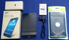Samsung Galaxy Tab3 SM-T310 8.0 inch tablet complete in box with original charger and unused cover