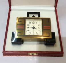 Cartier Art Deco Enamel – Desk clock – 1980s