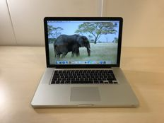 "Apple MacBook A1286 15"" 2,53/4GB/250GB/NVIDIA"