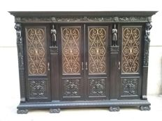 Renaissance style notary office furniture - first half of the 20th century