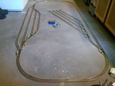 Märklin H0 - M-track railways with 10 electric switches