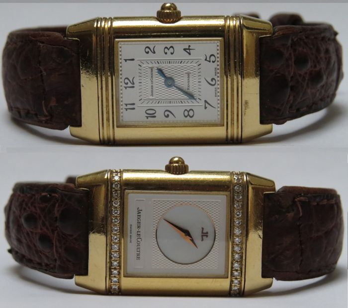 Jaeger-LeCoultre Reverso Duetto,  women's, 2001