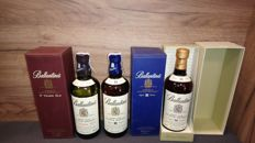 3 bottles - Ballantine's 30 years old, 21 years old & 17 years old